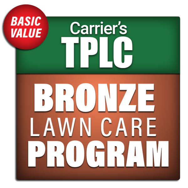 Carrier's Bronze Lawn Care Program Package