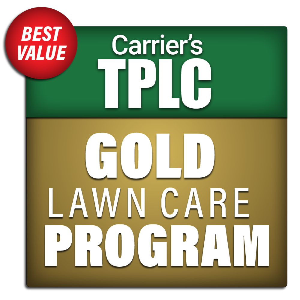 Carrier's Gold Lawn Care Program Package