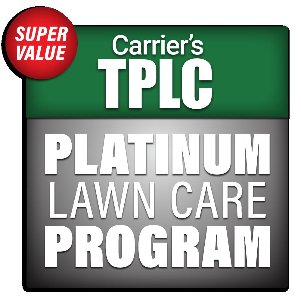 Carrier's Platinum Lawn Care Program Package