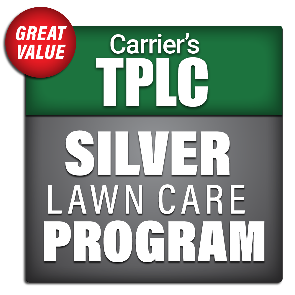 Carrier's Silver Lawn Care Program Package