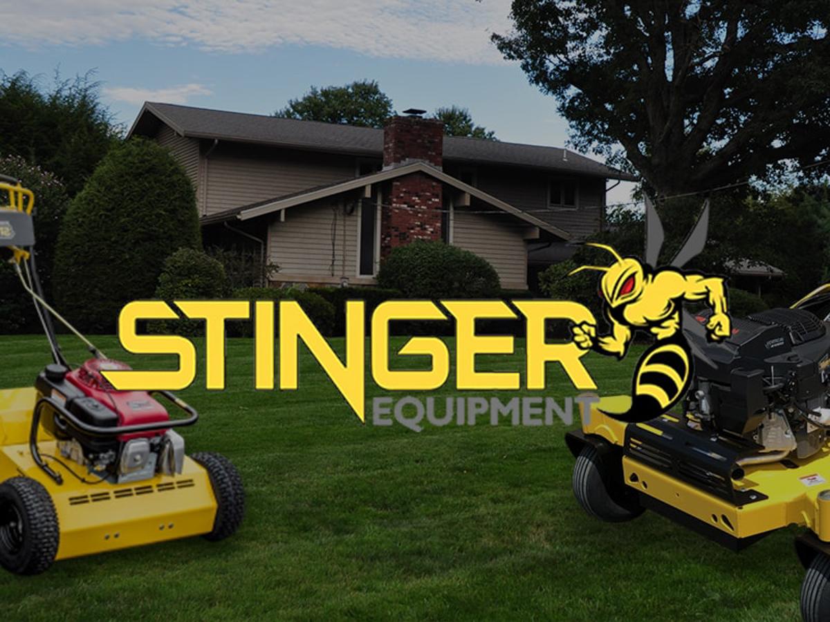 Stinger Lawn Aeration Services Equipment - Massachusetts