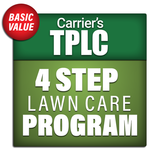 Carrier's 4 Step Lawn Care Program Package